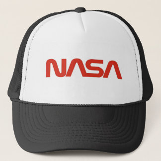 LUMIÈRE de logo rouge de serpent de la NASA Casquettes De Camionneur