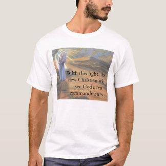 Lumière des Dix commandements T-shirt