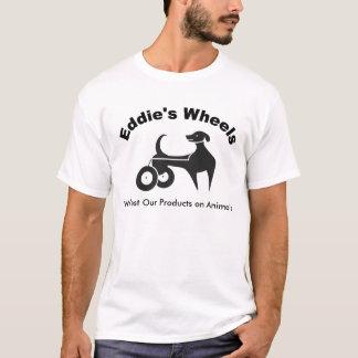 Lumière des roues d'Eddie T-shirt