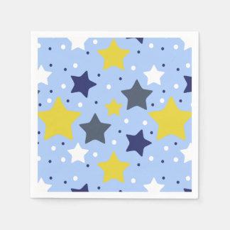 Lumière d'étoile de bébé serviettes en papier