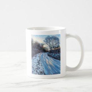 Lumière d'hiver mug