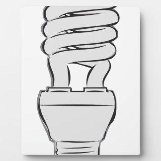 Lumière économiseuse d'énergie plaque photo