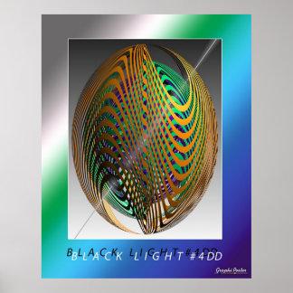 Lumière noire #4DD Affiche