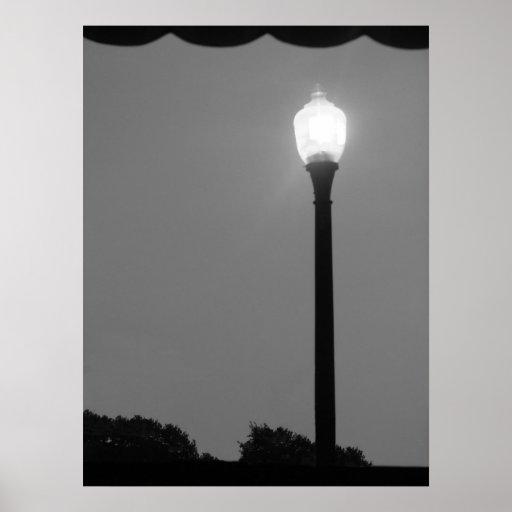Lumière noire et blanche posters