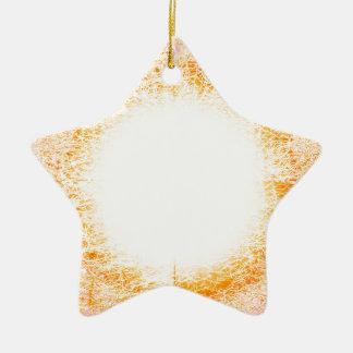 lumière ornement étoile en céramique