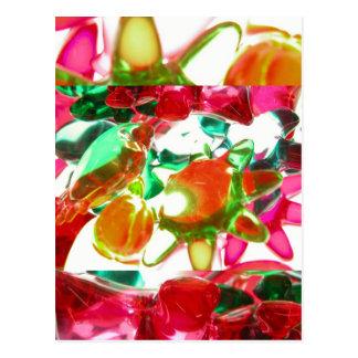 Lumières colorées cartes postales