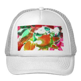 Lumières colorées casquettes de camionneur