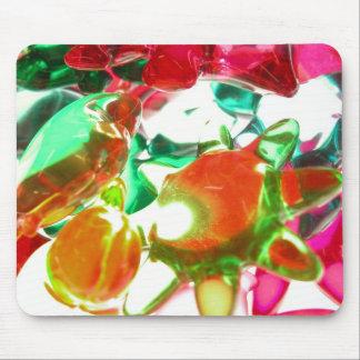 Lumières colorées tapis de souris