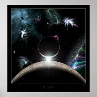 Lumières cosmiques posters