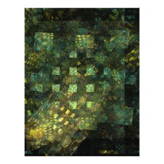 Lumières dans l'insecte d'art abstrait de ville prospectus 21,6 cm x 24,94 cm