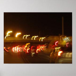 Lumières de photographie poster