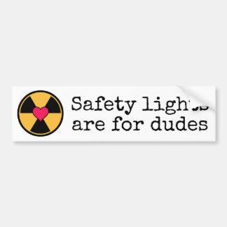 Lumières de sécurité autocollant pour voiture