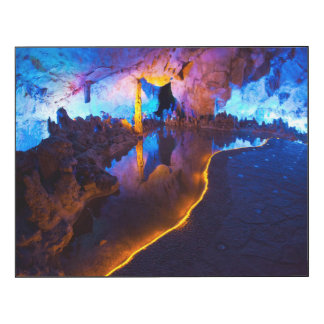 Lumières en caverne tubulaire de cannelure, Chine