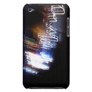 Lumières multicolores dans l'obscurité coque iPod touch Case-Mate