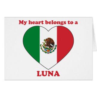 Luna Carte De Vœux
