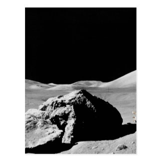 Lunar surface carte postale