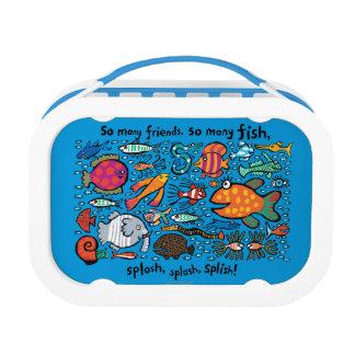 Lunch Box Amis colorés de poissons