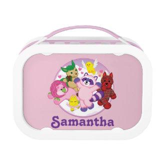Lunch Box Animaux familiers de Webkinz sur un arrière - plan