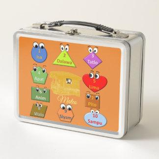 Lunch Box Apprenez l'alphabet et les nombres philippins