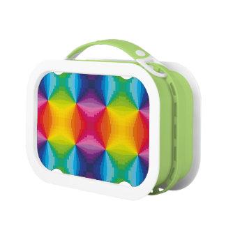 Lunch Box Arc-en-ciel abstrait