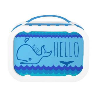 Lunch Box Baleine bonjour