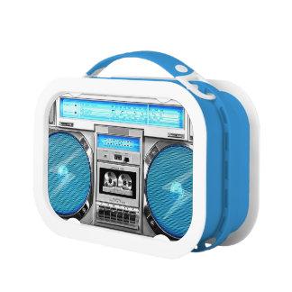 Lunch Box Boombox bleu
