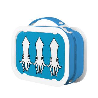 Lunch Box calmars drôles