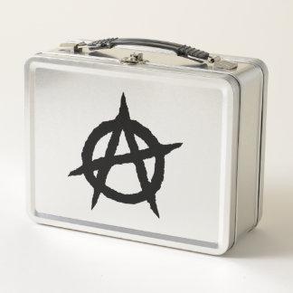 Lunch Box Chaos punk de signe de culture de musique de noir