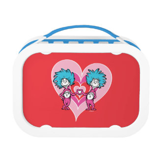 Lunch Box Chose 2 de la chose 1 de Dr. Seuss Valentine |