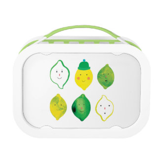 Lunch Box Citrons et chaux !