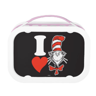 Lunch Box Coeur de Dr. Seuss Valentine | I le chat dans le