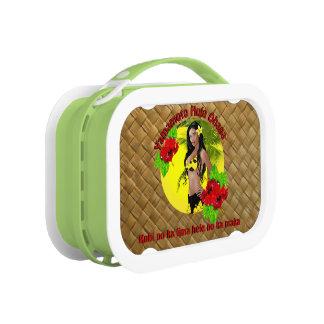 Lunch Box Coutume pour la gamelle d'Ohana de danse polynésie