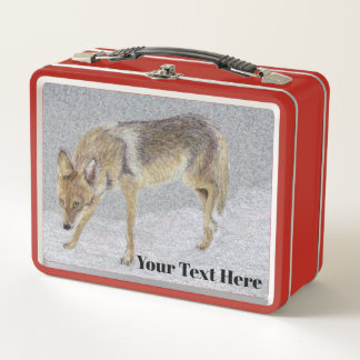 Lunch Box Coyote