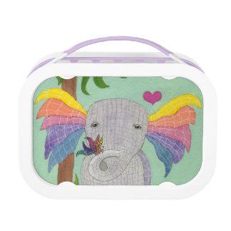 Lunch Box Éléphant et papillon BFF