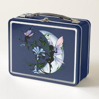 Lunch Box Fée d'ombre de gloire de matin et chat cosmique