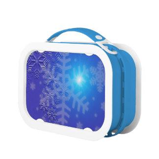 Lunch Box Flocons de neige de minuit