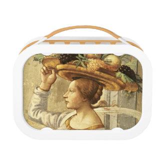 Lunch Box Fruit de transport de femme, de la naissance de St