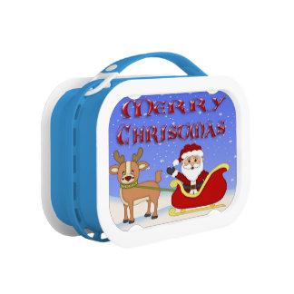 Lunch Box Gamelle de Père Noël de Joyeux Noël
