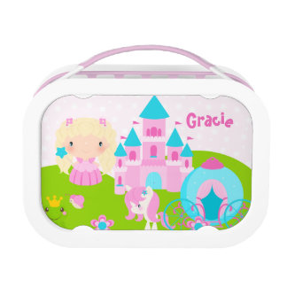 Lunch Box Gamelle mignonne de princesse Personalized