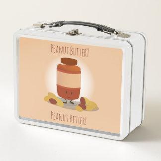 Lunch Box Gamelle mignonne en métal du pot | de beurre