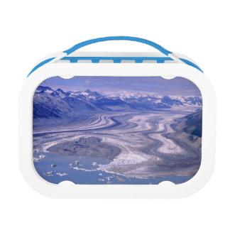 Lunch Box Glacier de Lowell de vue aérienne, ressortissant d