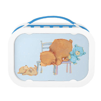 Lunch Box Grand ours de Brown, calicot, et chaises souples