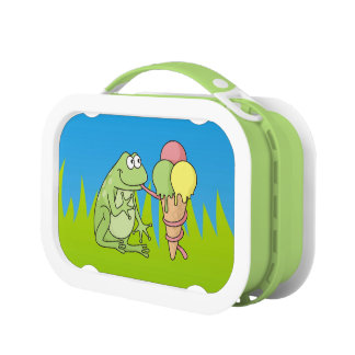 Lunch Box Grenouille avec la glace