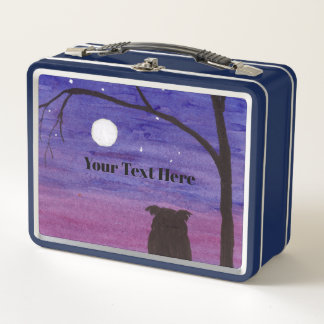 Lunch Box Hibou et pleine lune