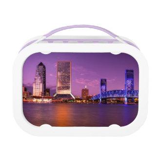 Lunch Box Horizon de Jacksonville la Floride la nuit