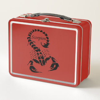 Lunch Box Insecte très venimeux toxique d'arachnide de