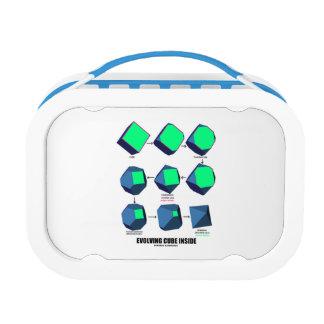 Lunch Box Intérieur en évolution de cube (maths et géométrie