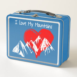 Lunch Box J'aime mes montagnes !