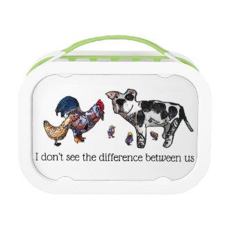 Lunch Box Je ne vois pas la différence entre nous
