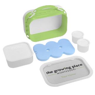 Lunch Box La gamelle de Montessori de place croissante
